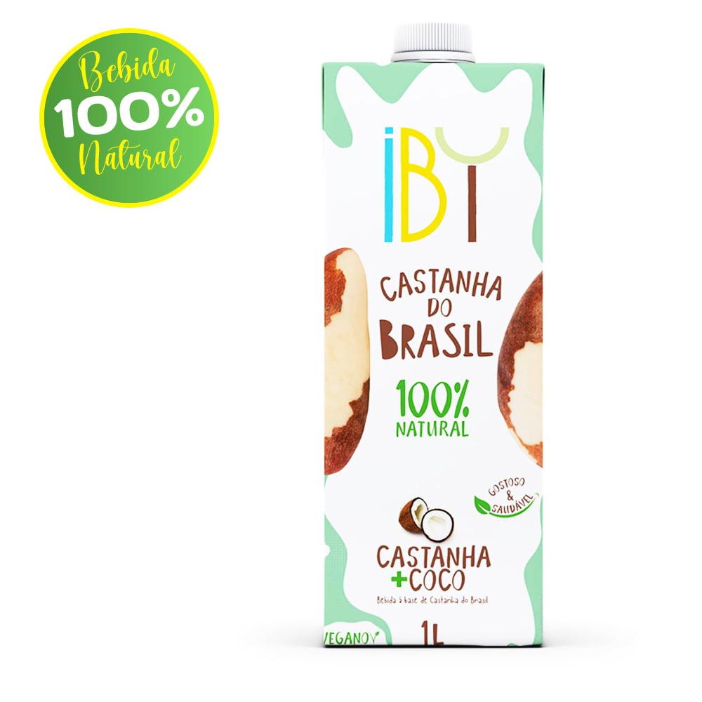 Bebida de Castanha do Brasil e Coco