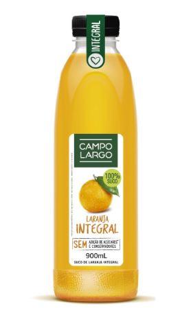 Suco de Laranja Campo Largo 900ml