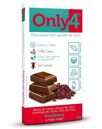 Chocolate Only Four Cranberry