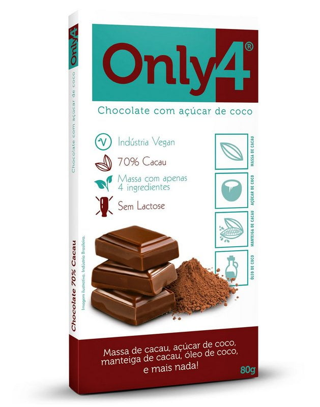 Chocolate Only Four Puro