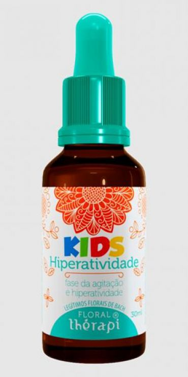 FLORAL THERAPI KIDS - HIPERATIVIDADE - 30ML