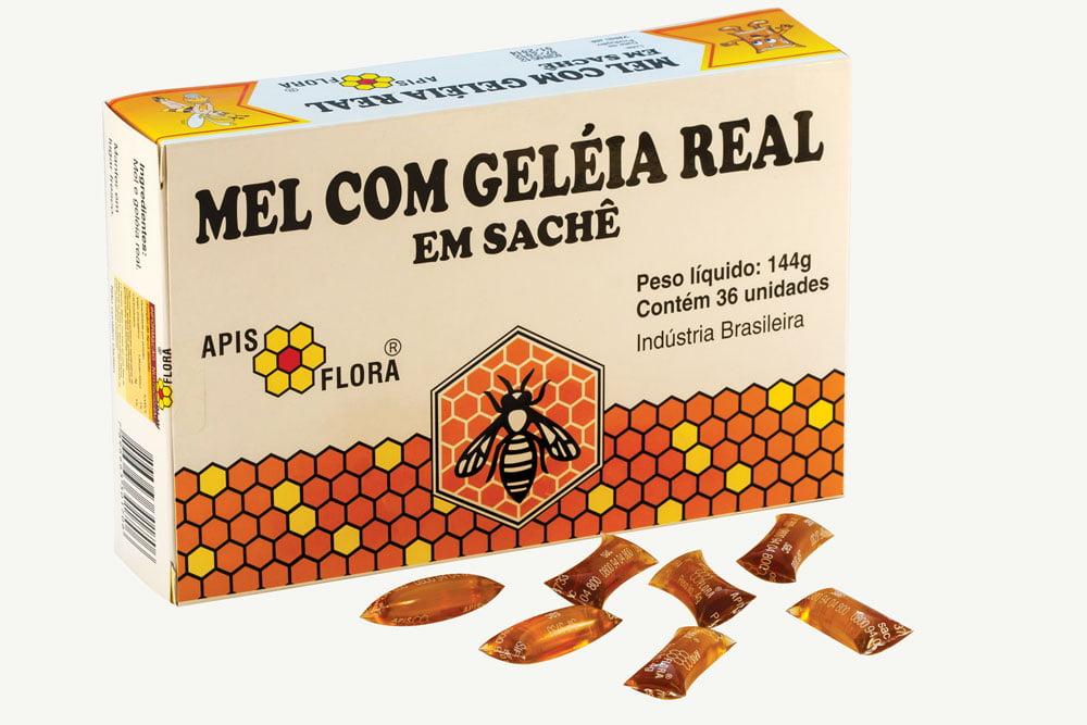 MEL COM GELEIA REAL