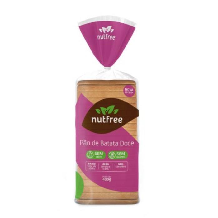 PÃO DE BATATA DOCE SEM GLÚTEN NUTFREE