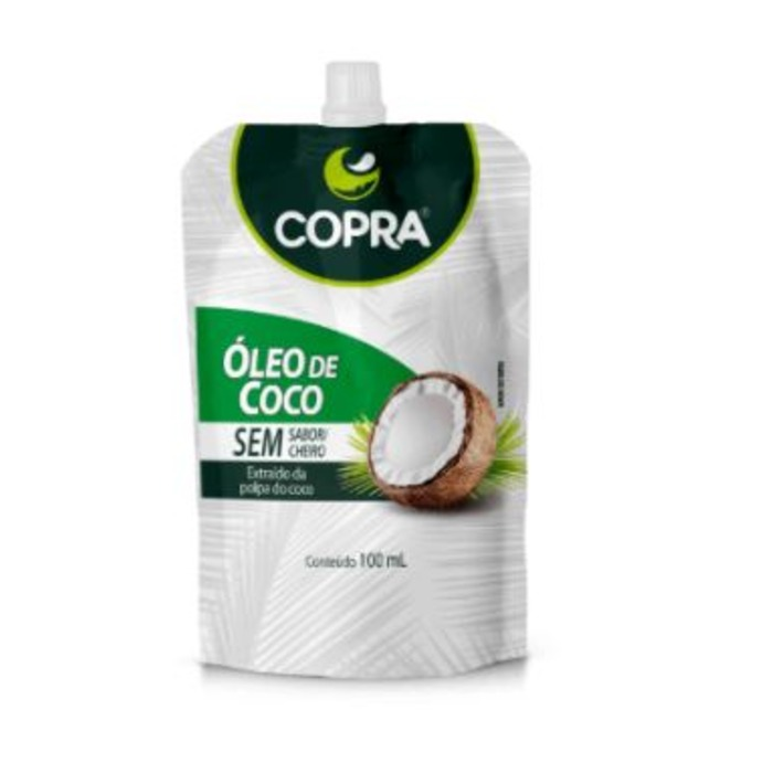 OLEO DE COCO SEM SABOR POUCH COPRA 100ml