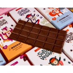 BARRA DE CHOCOLATE - NOUGAT 70% - 95G SUPER VEGAN