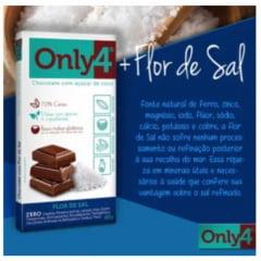 CHOCOLATE ONLY4 FLOR DE SAL