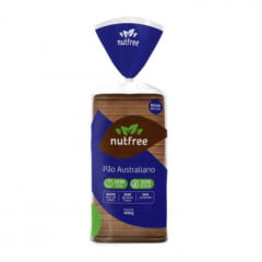 PÃO AUSTRALIANO SEM GLÚTEN NUTFREE