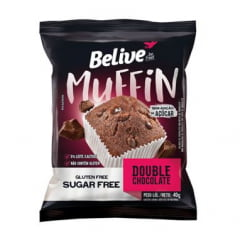 MUFFIN BELIVE DOUBLE CHOCOLATE