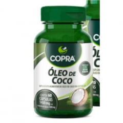 CAPSULAS ÓLEO DE COCO EXTRA VIRGEM COPRA