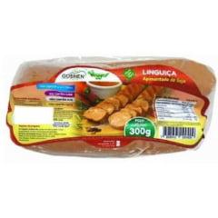 Linguiça apimentada de soja Vegana Goshen